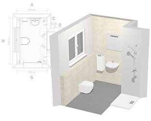 3D Bathroom Planner: design your own dream bathroom online ...