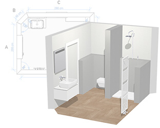 3D Bathroom Planner: design your own dream bathroom online ...